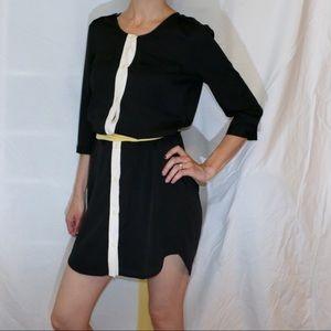 Moda Button Down Shirt Dress